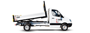 Tipper Hire from VMS Vehicle Hire