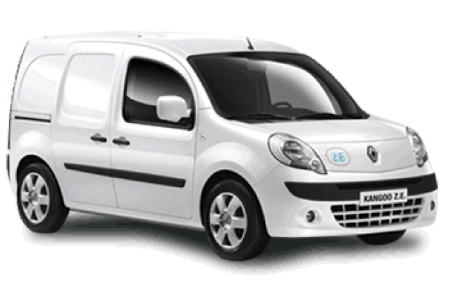Renault Kangoo Electric Car Hire Deals