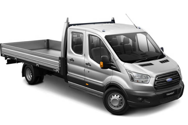 Ford Transit Double Cab 1 Way Tipper Car Hire Deals